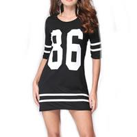 Fashion T-shirt Dress