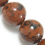 Mahogany Obsidian Bead