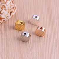 Flat Brass Beads