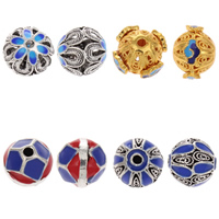 Enamel Brass Beads
