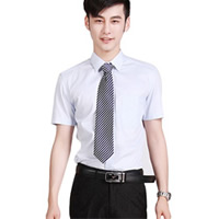Men Short Sleeve Dress Shirts