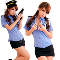 Sexy Female Police Costume