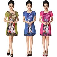 Middle Aged Women Dress