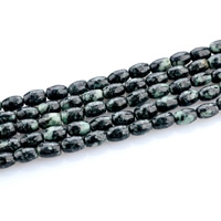 Black Silk Stone Bead