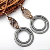 Non Magnetic Hematite Earrings