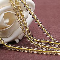 Natural Lemon Quartz Beads