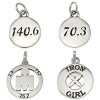 Sterling Silver Message Pendant