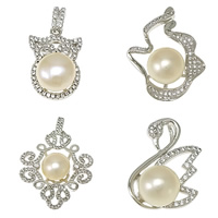 Cultured Pearl Sterling Silver Pendants