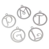 Filigree Stainless Steel Stamping Pendant