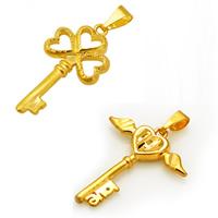 Brass Key Pendants