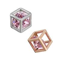 Cubic Zirconia Stainless Steel Pendant