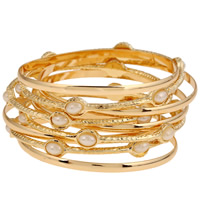 Fashion Zinc Alloy Bangle