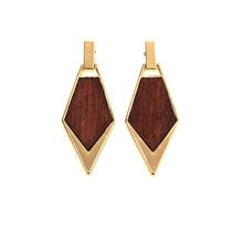 Wood Earring
